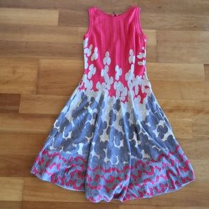 Nic + Zoe abstract floral dress